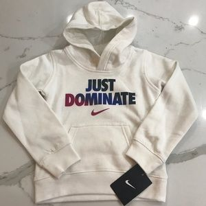 Nike Size 5 Girl's Just Dominate Hoodie NWT